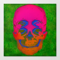 the 4i skull stencil art - 3D Canvas Print