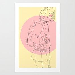 apricot dreams Art Print