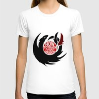 hiccup T-shirts featuring How To Train Your Dragon (Hiccup's Shield) by KitsuneDesigns