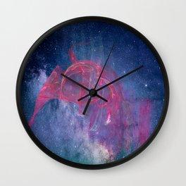 Space Night Wall Clock