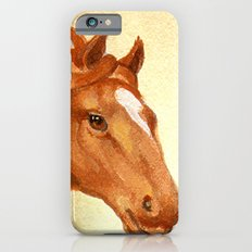 Redhead - Chestnut Hunter Horse Slim Case iPhone 6s