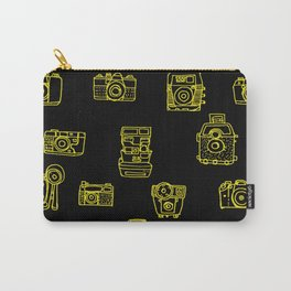 Cameras: Yellow Carry-All Pouch