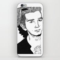 matty healy iPhone & iPod Skins featuring Matty Healy by ☿ cactei ☿