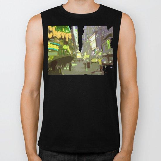 NY#7 Times Square Biker Tank