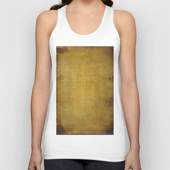 Some books are... Unisex Tank Top