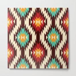 American Native Pattern No. 182 Metal Print
