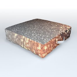 Tortilla brown Glitter effect - Sparkle and Glamour Outdoor Floor Cushion