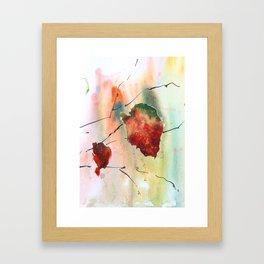 Autumn leaf 2 Framed Art Print
