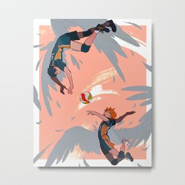 Karasuno Metal Print