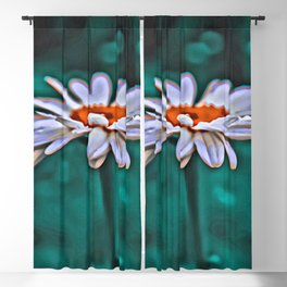 Painted Daisey Blackout Curtain