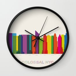 Colossal NYC Wall Clock
