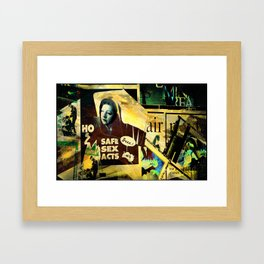 Fractured View Framed Art Print