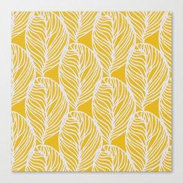 Petaluma, yellow Canvas Print