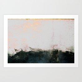 abstract smoke wall painting Art Print