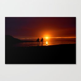 Polzeath Canvas Print