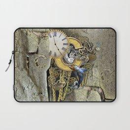 Steampunk letter C Laptop Sleeve