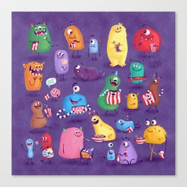 I Love Sweeties Canvas Print