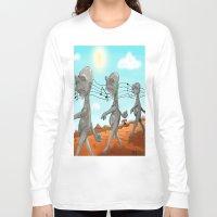 "dr seuss Long Sleeve T-shirts featuring Dr. Seuss' ""Michael Stipe""  by Christopher Caduto"