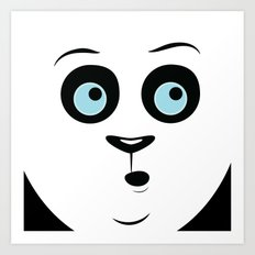 Whoa Panda Art Print