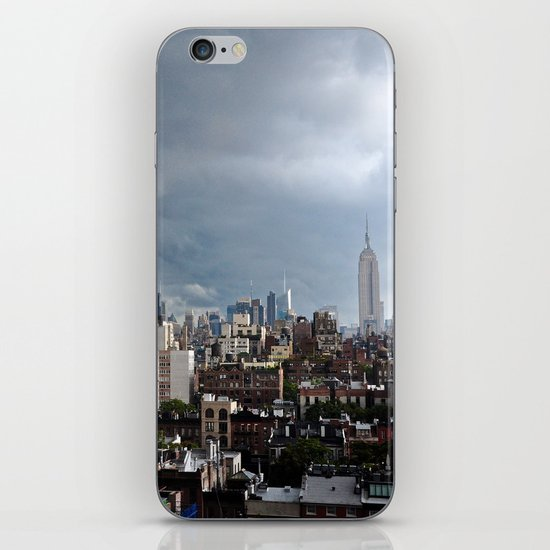 Taking The City By Storm iPhone & iPod Skin