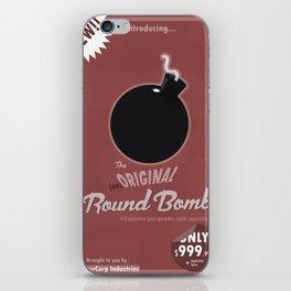 (un)Original Round Bomb iPhone Skin
