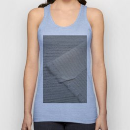Lambswool and Dissolvable Woven Sample Unisex Tank Top
