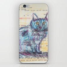 Here kitty, kitty iPhone & iPod Skin