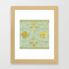 sunshine over versailles Framed Art Print