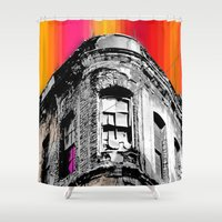 istanbul Shower Curtains featuring Istanbul by cArt