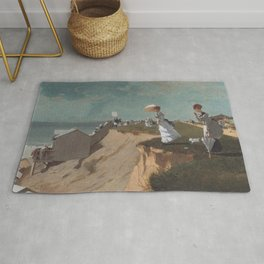 Long Branch New Jersey 1869 By WinslowHomer | Reproduction Rug