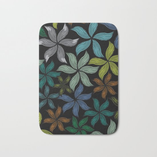 Beautiful flowers Bath Mat