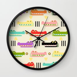 Contemporary Glyphs Wall Clock