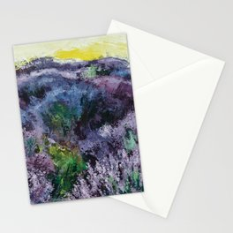 Lavender Field Stationery Cards