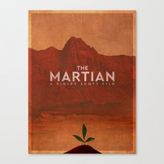 The Martian (2015) Poster Canvas Print