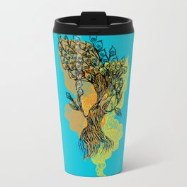 peacock tree Travel Mug