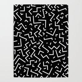 Memphis pattern 31 Poster