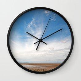Pegasus Cloud Beach Wall Clock