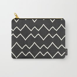 Urbana in Black and White Carry-All Pouch