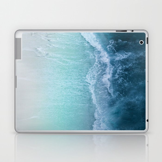 Turquoise Sea Laptop & iPad Skin