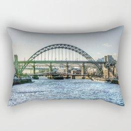 Newcastle Tyne Bridges Rectangular Pillow