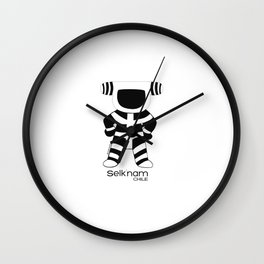 Arte Amara: Selknam People Kotaix Wall Clock