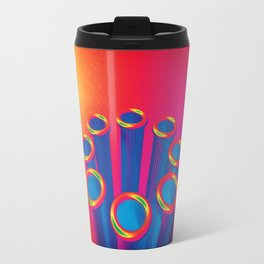 Colorful Pop Art Cylinders Travel Mug