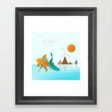 Approaching Dusk Framed Art Print