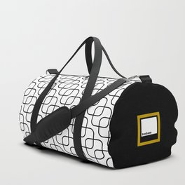 kaskada (white) Duffle Bag