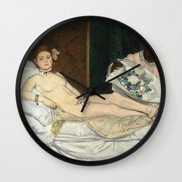 Olympia, Édouard Manet Wall Clock