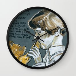 Christopher Robin and Winnie the Poo Wall Clock