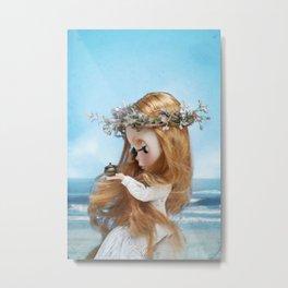 Erregiro Blythe Custom Doll Pandora Metal Print