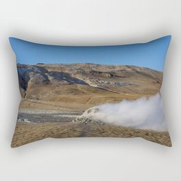 Namafjall geothermal Iceland Rectangular Pillow
