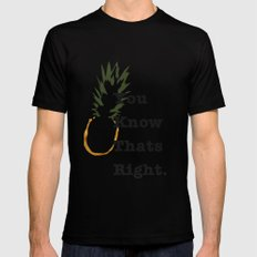 You Know Thats Right MEDIUM Mens Fitted Tee Black