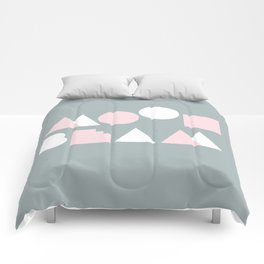 Moonbeam Mountains Comforters